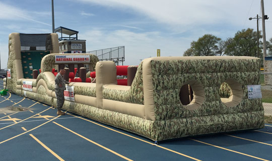 Arkansas National Guard Obstacle Course